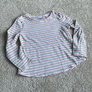 Long Sleeve Striped Tee 3T